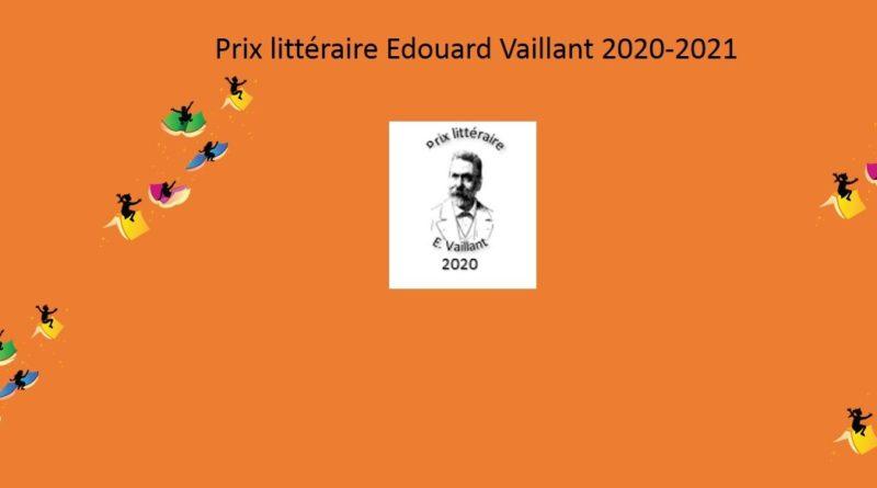 Prix littéraire Edouard Vaillant 2020-2021