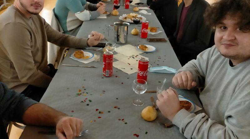 Repas de Noël pour les internes